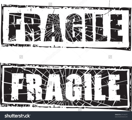 Our poor, fragile, delicate bodies